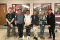 students recognized for demonstrating self-control
