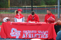 student signing letter of intent