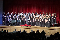students singing in winter concert