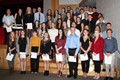 group of 2017 c v national honor society inductees