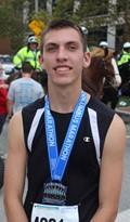 Jackson Retzlaff at columbus Marathon