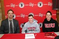 Spencer Root Signs Soccer Letter image