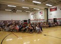 grade 5 end of year celebration all fifth grade students sitting