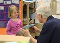 Pre-K students receive book donations image