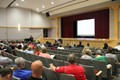 chenango valley central school district superintendent dave gill speaking at staff opening day