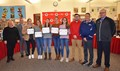swim members recognized at board meeting
