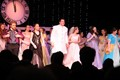 students bowing at end of Cinderella performance