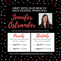meet with principal Ostrander flyer