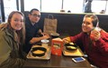 students on field trip at core life eatery