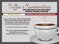coffee and conversation event postponed