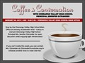 coffee and conversation flyer