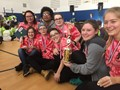 students at odyssey of the mind competition