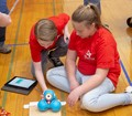 students participating in robo rave competition