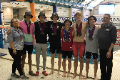 boys swim at state championships