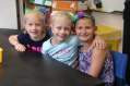 students at summer elementary open house