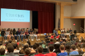 Positivity Project Kick Off event at Chenango Valley High School