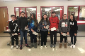 students recognized for character shout outs