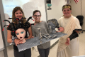 students with presentation on ancient greece