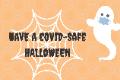 covid safe halloween graphic