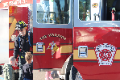 students learning about fire safety