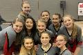 junior varsity cheer athletes