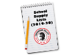 School Supply Lists 2019-20