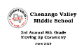Moving up ceremony graphic