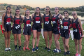 varsity girls cross country athletes