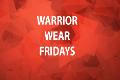 Warrior Wear Fridays
