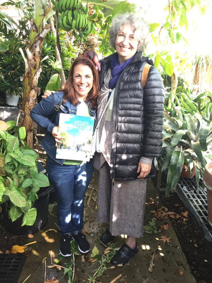 mrs henyan with french teacher