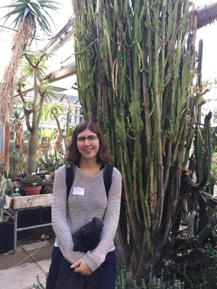 french teacher in green house