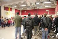 veterans watch children sign lanuage patriotic song