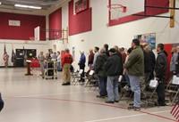 veteran talking while other veterans listen