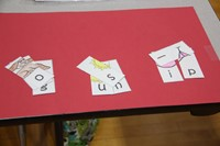 letters to spell out words at humanities nigh