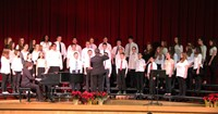 seventh and eighth grade chorus singing