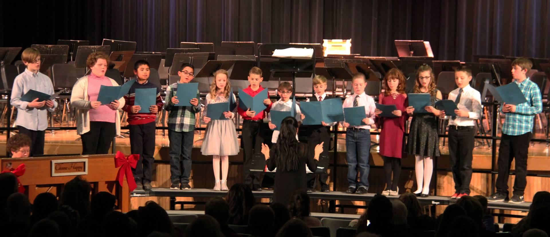 fifth grade chorus