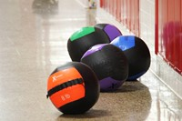 cross fit exercise balls