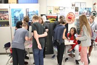 students taking part in activities
