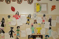 Halloween Art Pictures on Wall 7