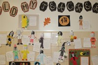 Halloween Art Pictures on Wall 12