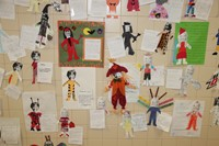 Halloween Art Pictures on Wall 14