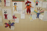 Halloween Art Pictures on Wall 15