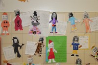 Halloween Art Pictures on Wall 16