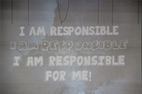 powerpoint that says I am responsible for me