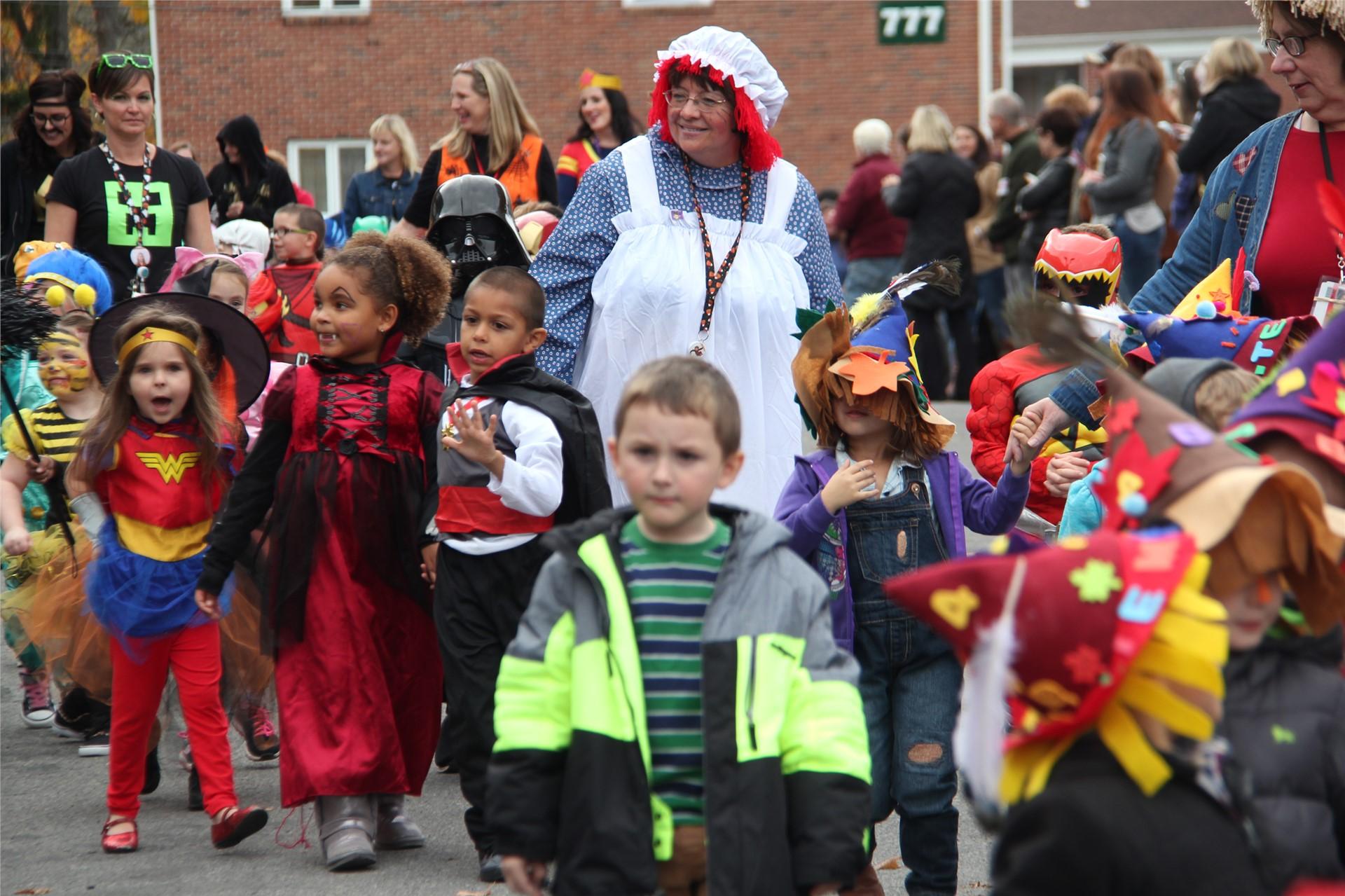 Port Dickinson Elementary Halloween Parade 1