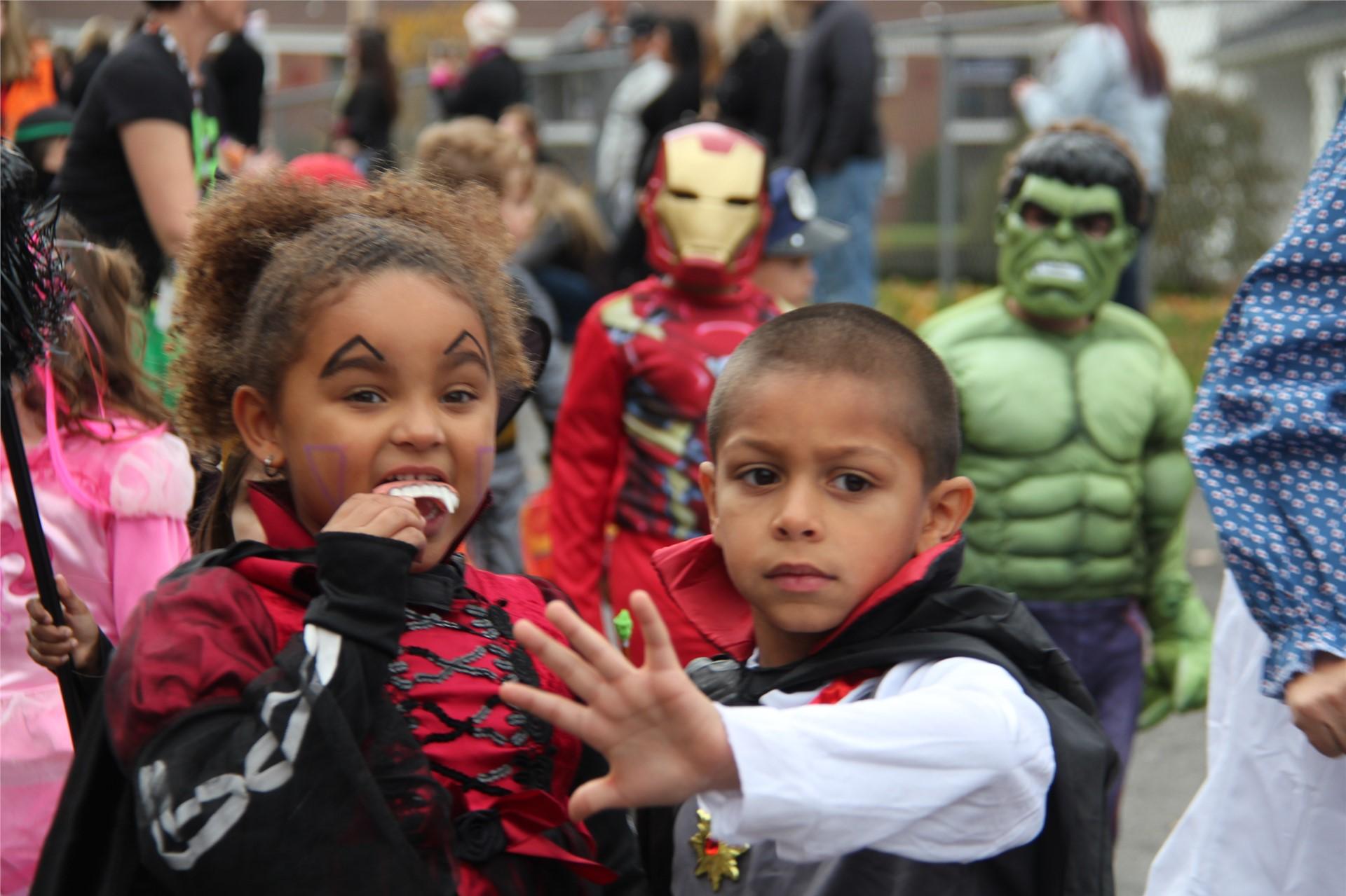 Port Dickinson Elementary Halloween Parade 7