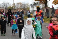 Port Dickinson Elementary Halloween Parade 13
