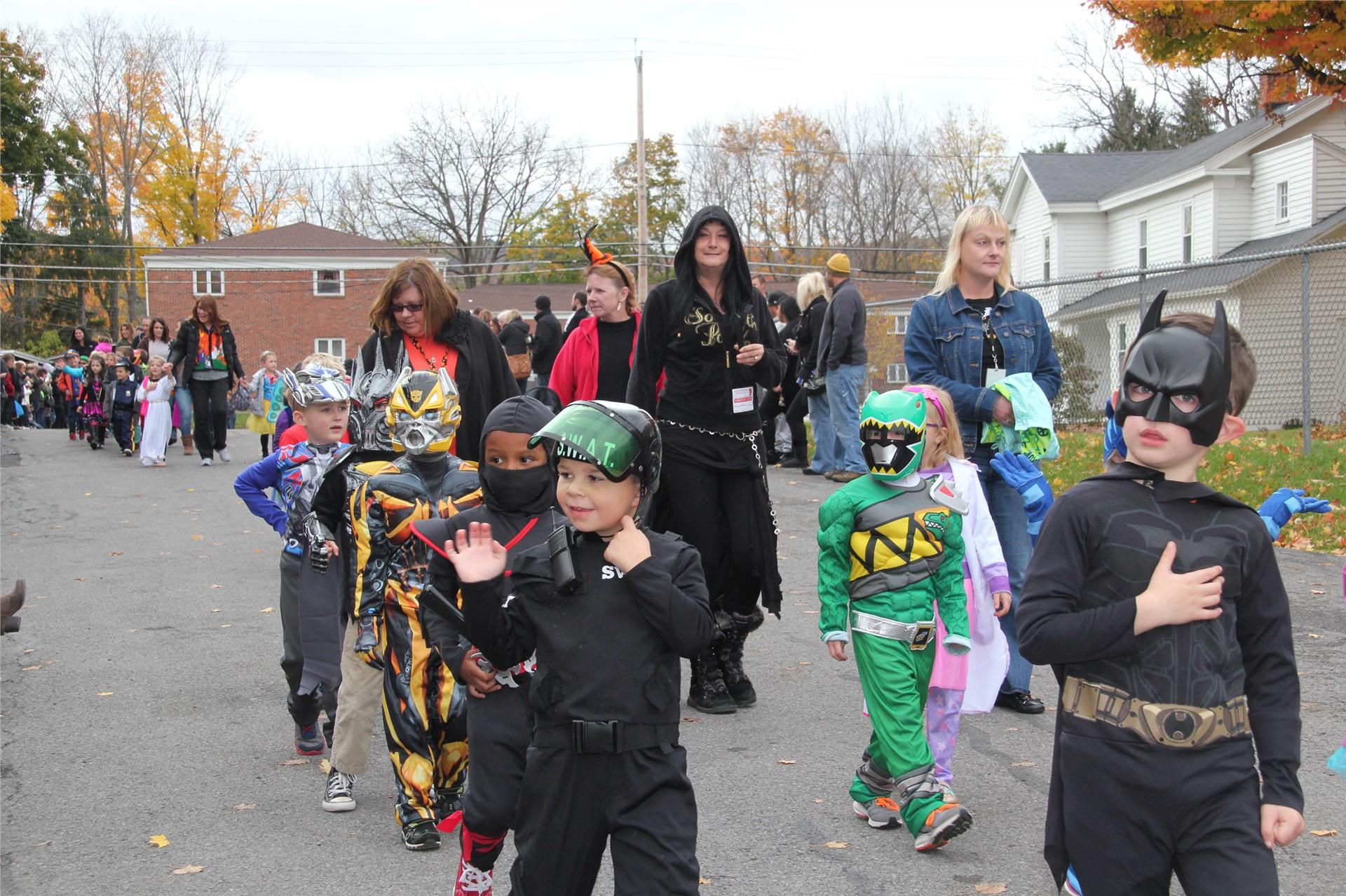 Port Dickinson Elementary Halloween Parade 14