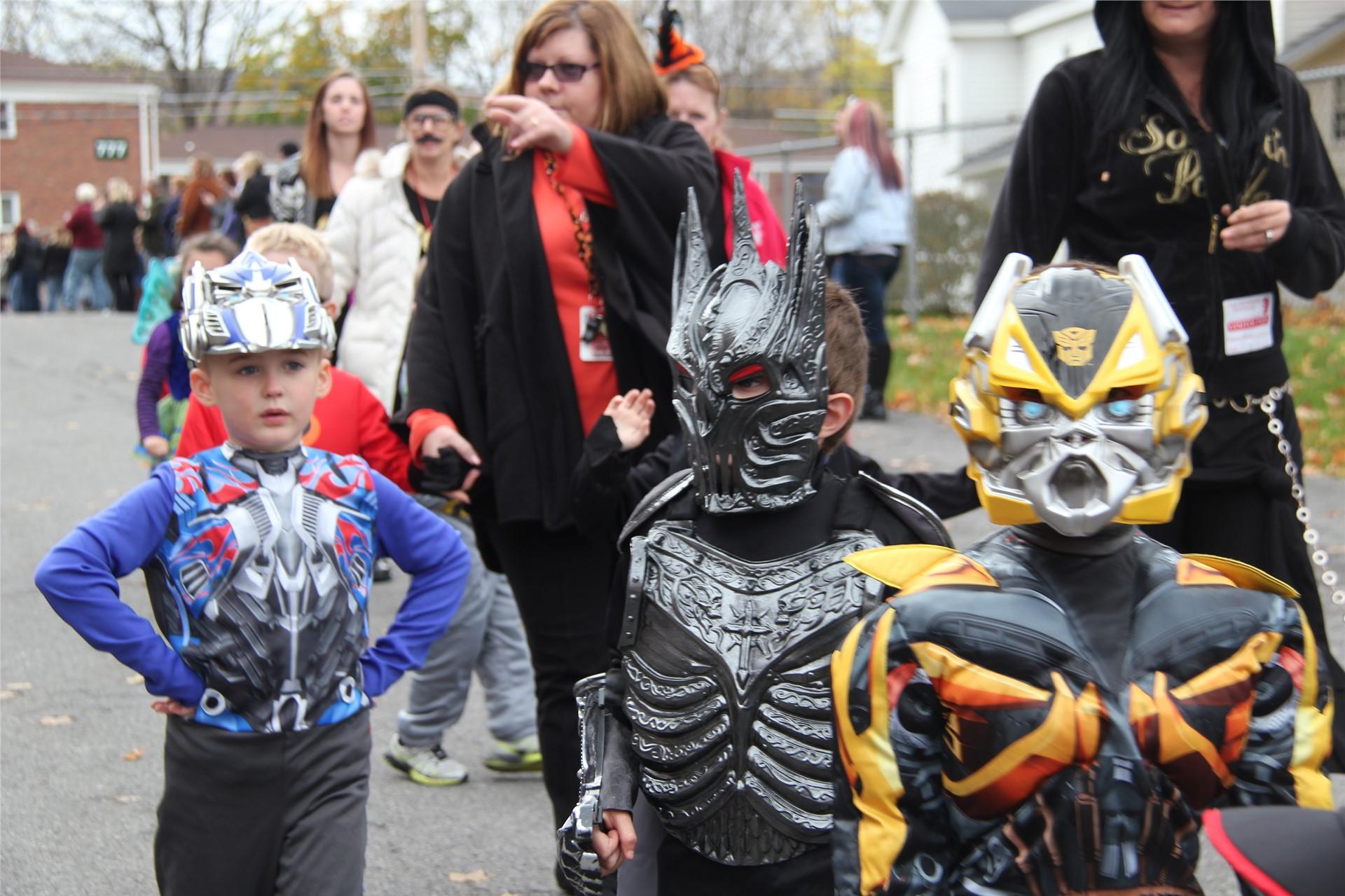 Port Dickinson Elementary Halloween Parade 16