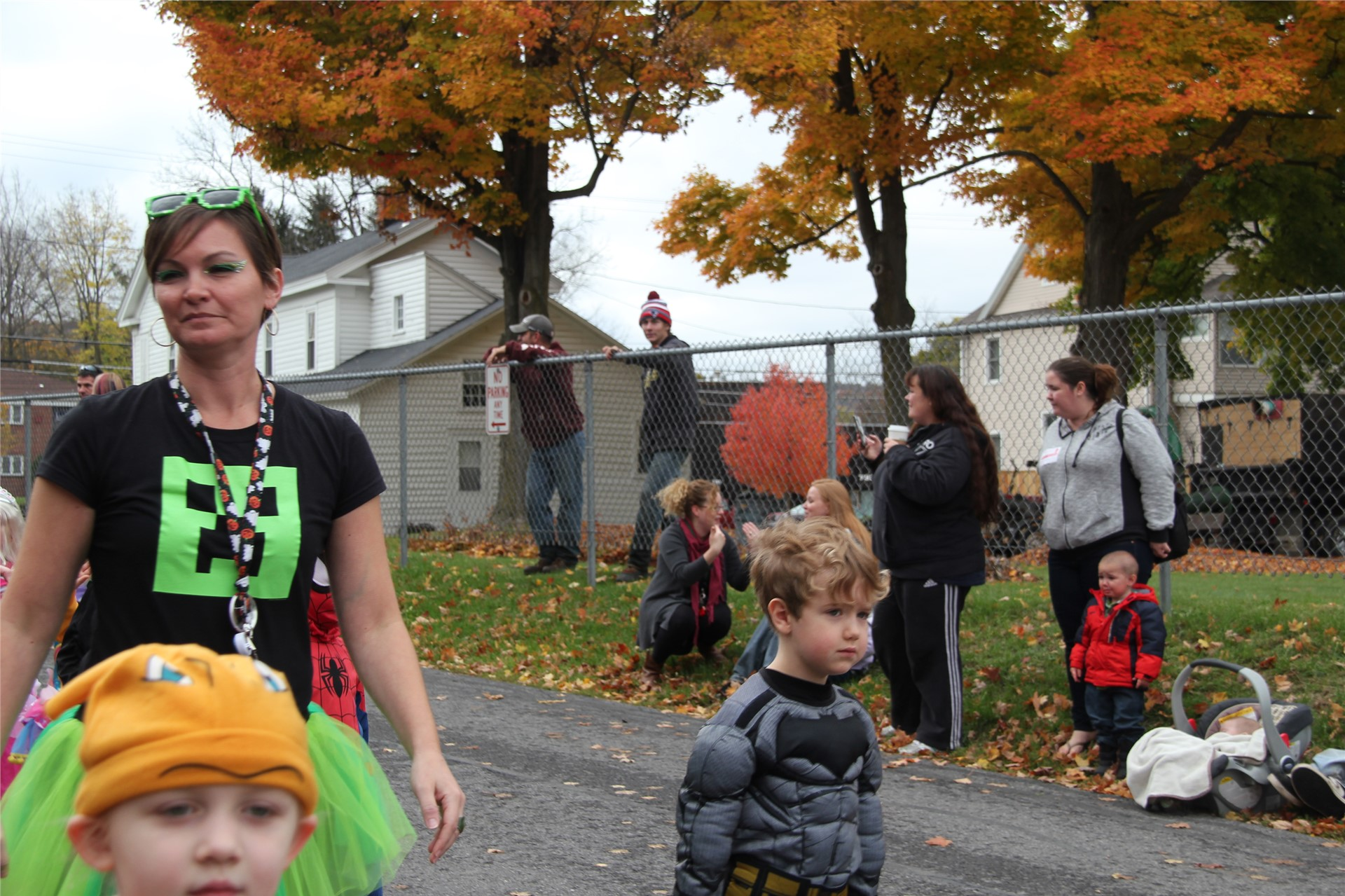 Port Dickinson Elementary Halloween Parade 11